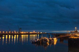 Normandie_Le Havre_Port de Peche_nachts_2_©Hilke Maunder