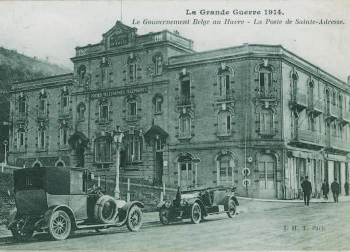 Normandie_Le Havre_Sainte Adresse_belgische Regierung_1