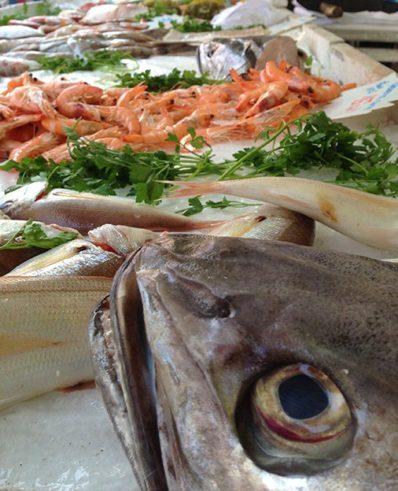 Provence_Nizza_Marché aux Fleurs_Fisch_Meeresfruechte_©Hilke Maunder