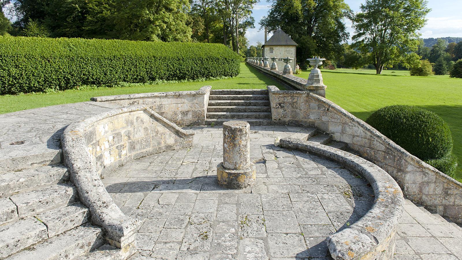 Jumièges: im Park der Abtei. Foto: Hilke Maunder
