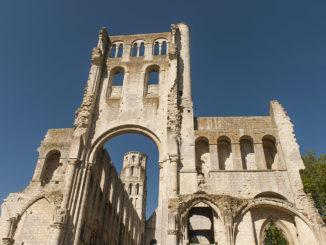 Jumièges: Was für eine Ruine! Foto: Hilke Maunder