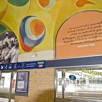 F/Languedoc-Roussillon/Pyrénées Orientales: Perpignan, Bahnhof