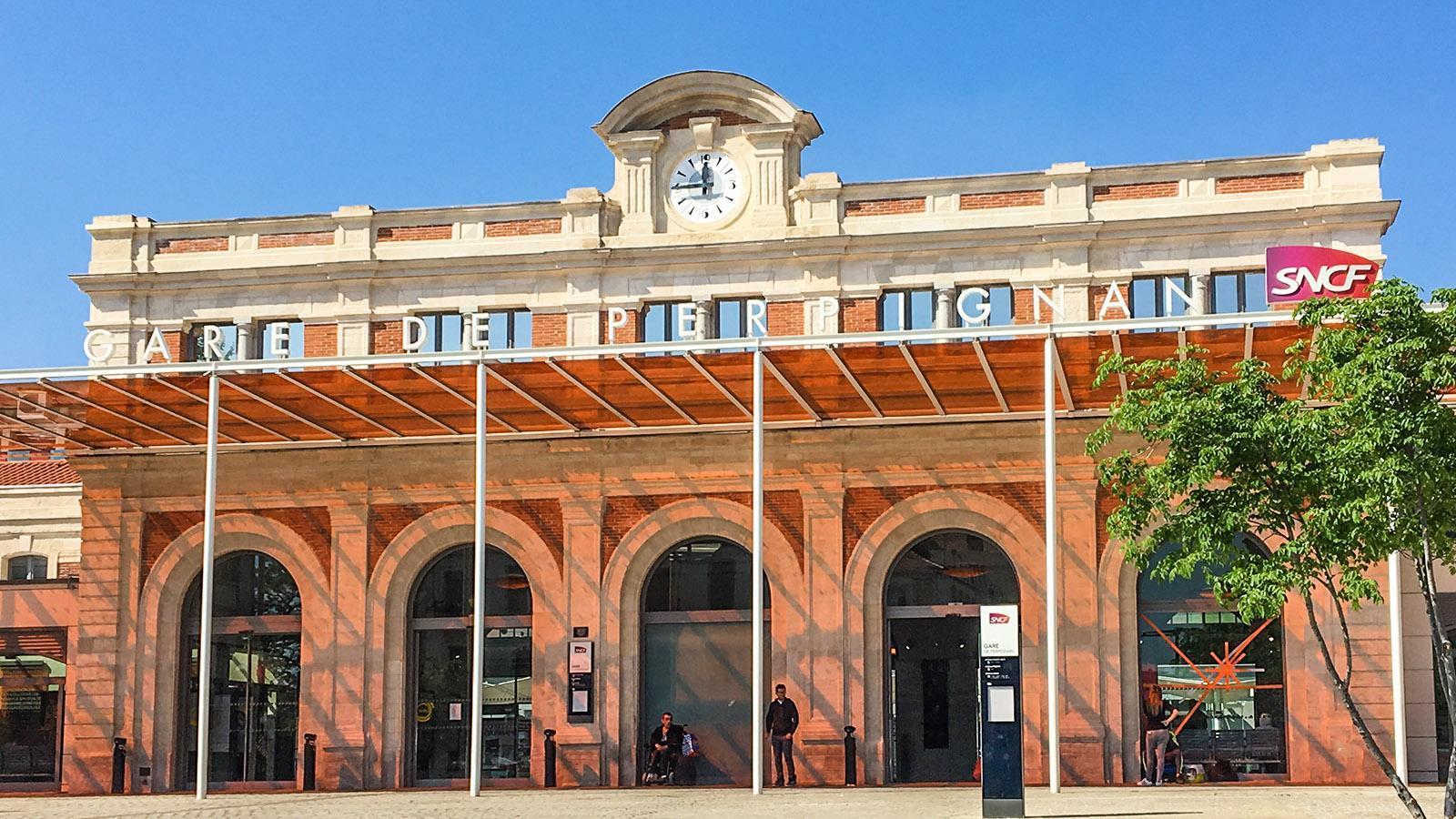 Der Bahnhof von Perpignan. Foto: Hilke Maunder