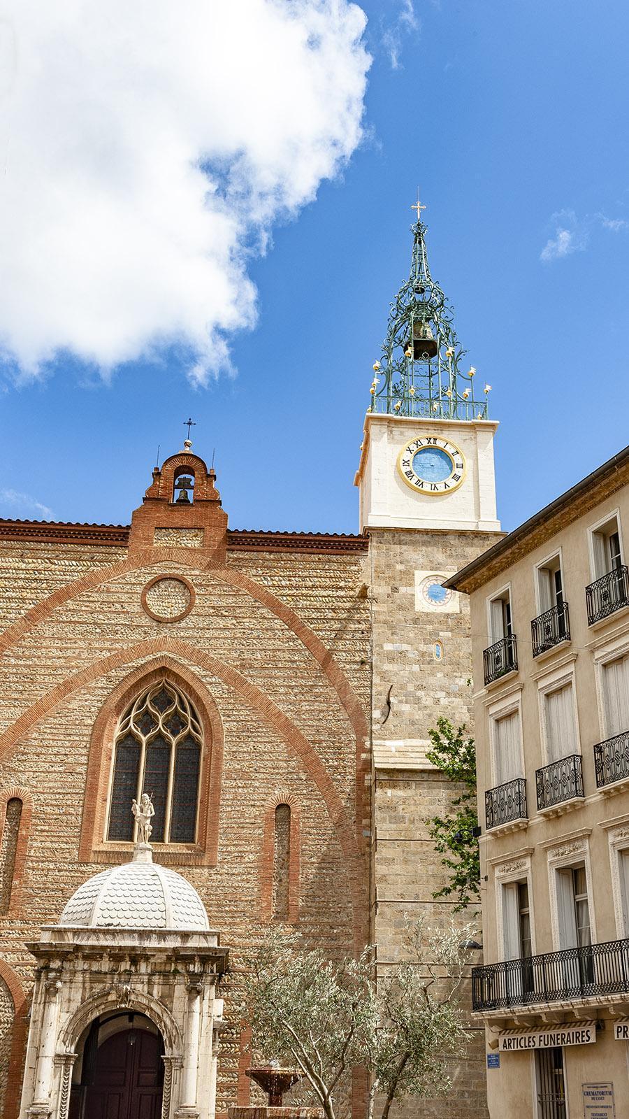 Perpignan: die Kathedrale. Foto: Hilke Maunder