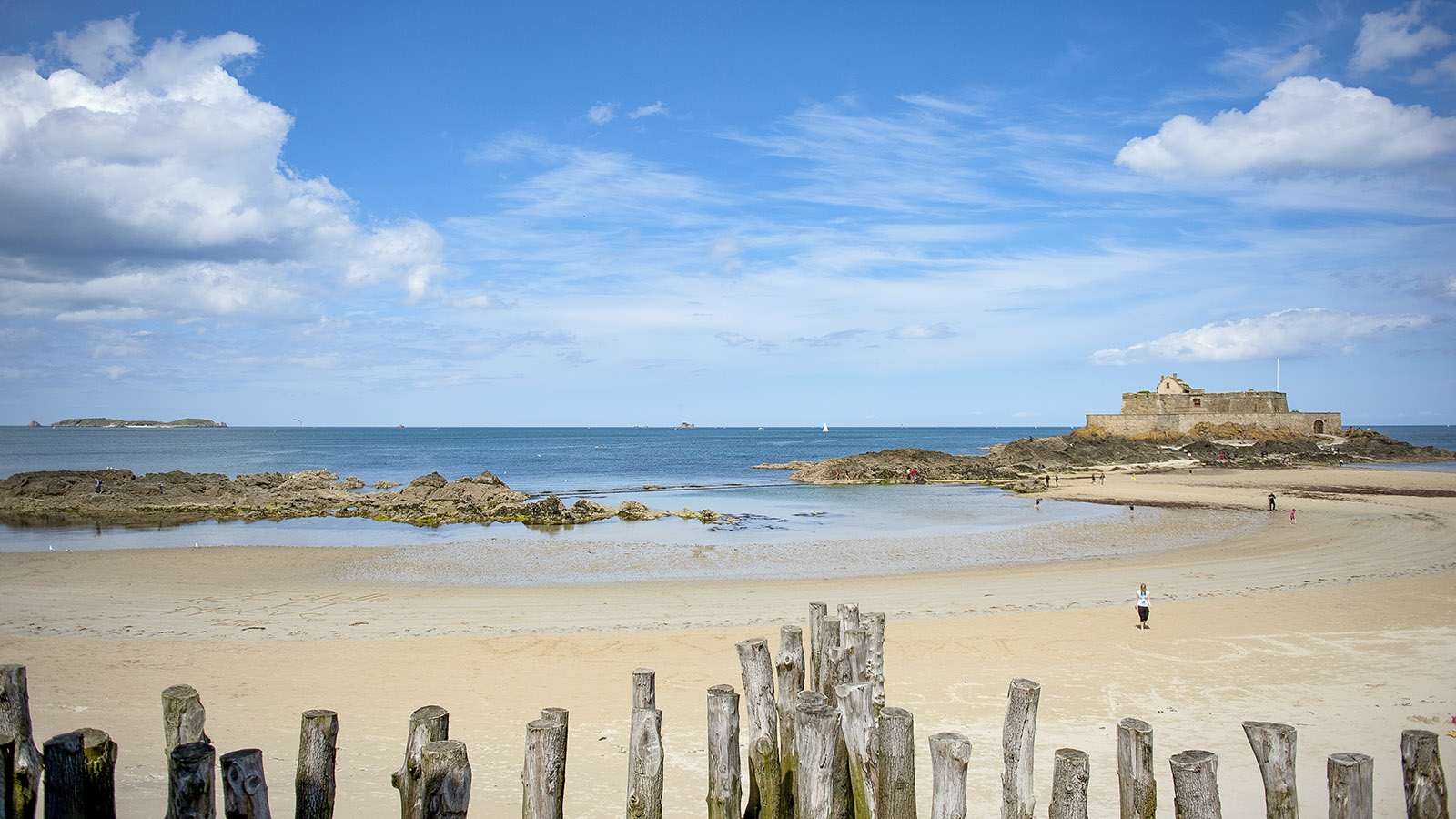 Saint-Malo, Grand Bé. Foto: Hilke Maunder