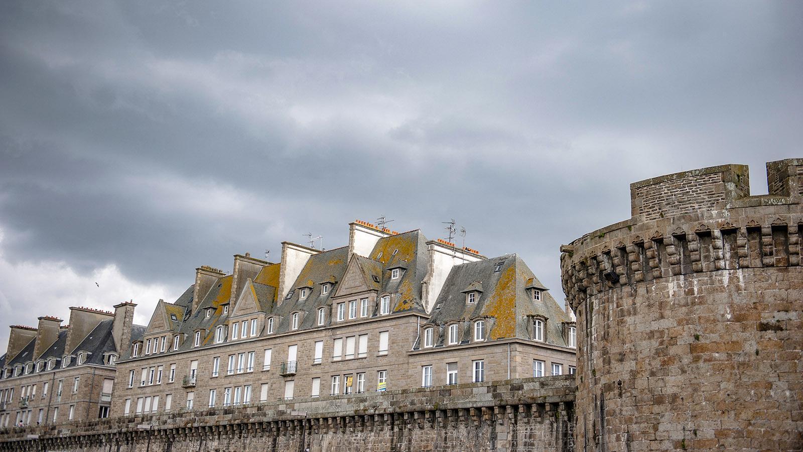 Wehrhafte Hafenstadt: Saint-Malo. Foto: Hilke Maunder