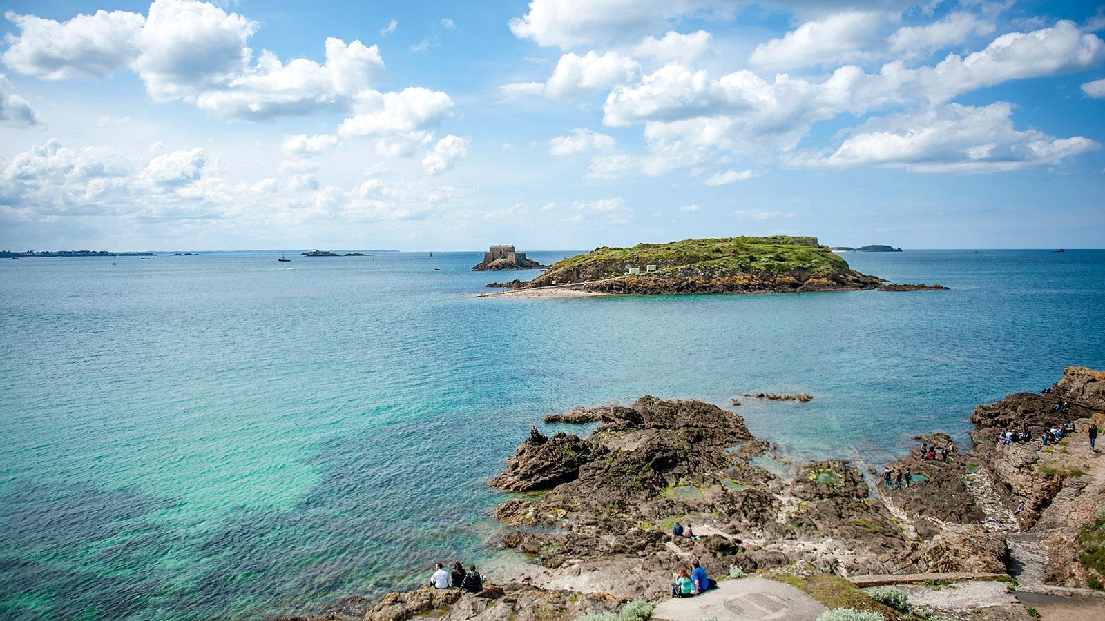 An der Atlantikküste bei Saint-Malo. Foto: Hilke Maunder