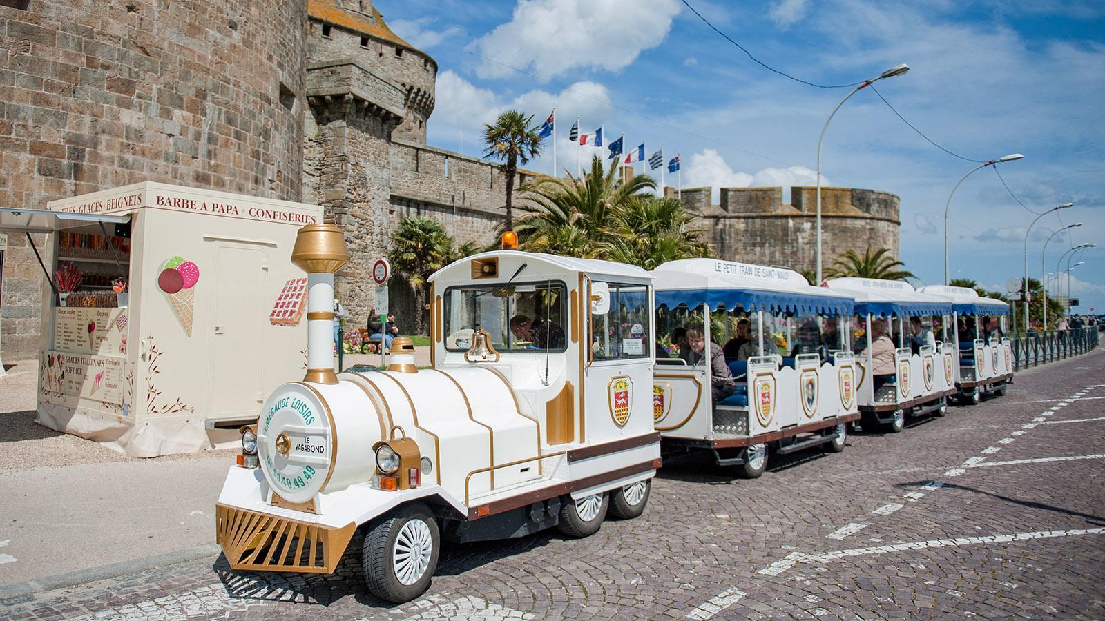 Der Minizug von Saint-Malo. Foto: Hilke Maunder