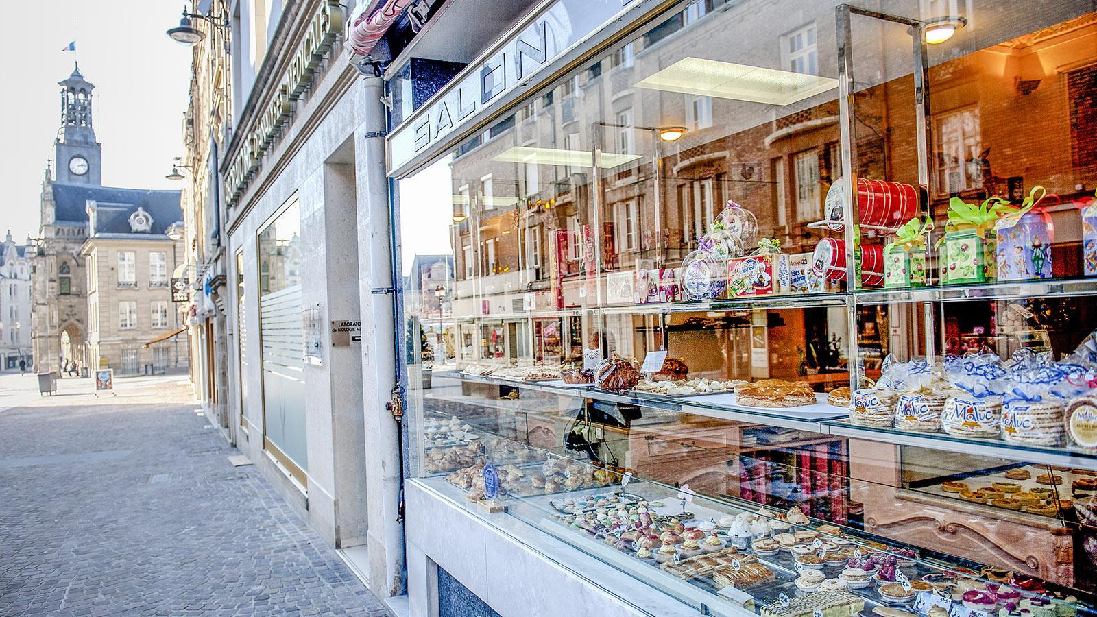 Leider dicht: die Pâtisserie Henri von Saint-Quentin. Foto: Hilke Maunder