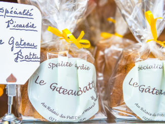 Der Gâteau Battu, das Osterbrot der Picardie. Foto: Hilke Maunder