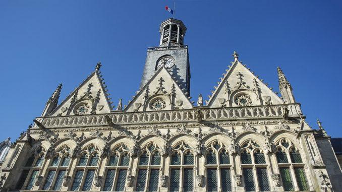 Das Rathaus von Saint-Quentin. Foto: Hilke Maunder