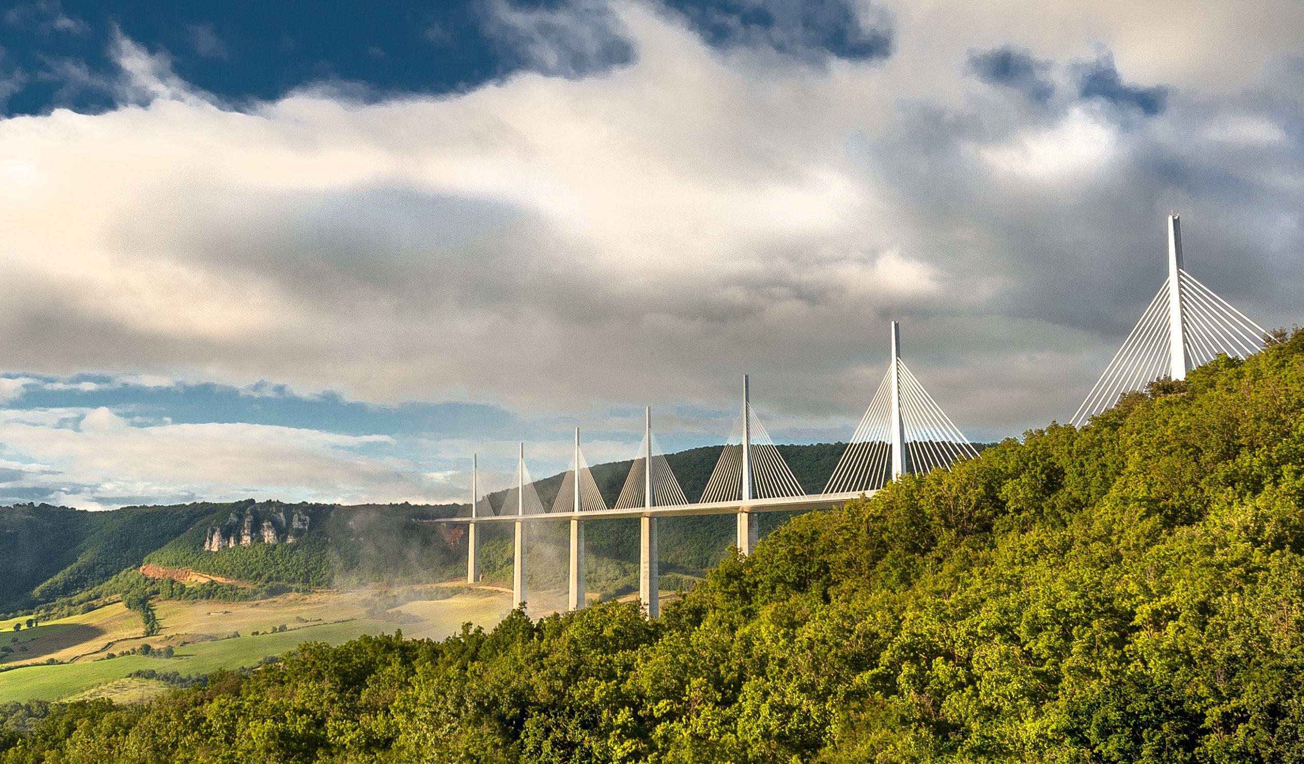Das Viadukt von Millau. Foto: Hilke Maunder