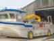 Moules de Bouchot: Amphibienfahrzeug. Foto: Hilke Maunder