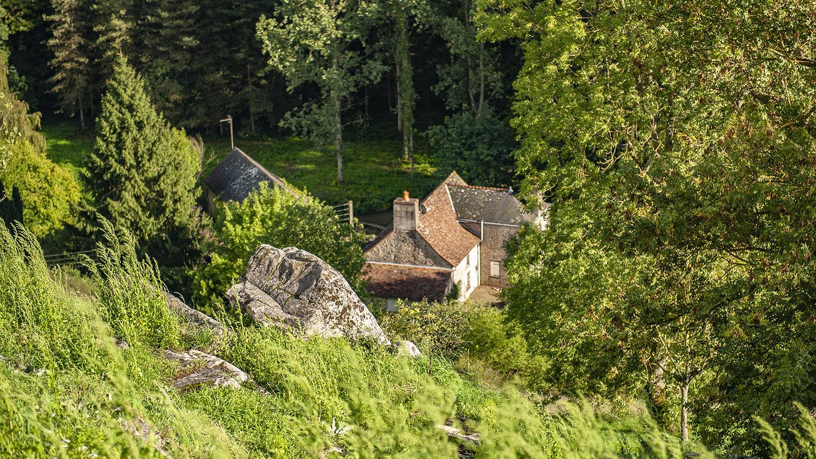 Sainte-Suzanne. Foto: Hilke Maunder