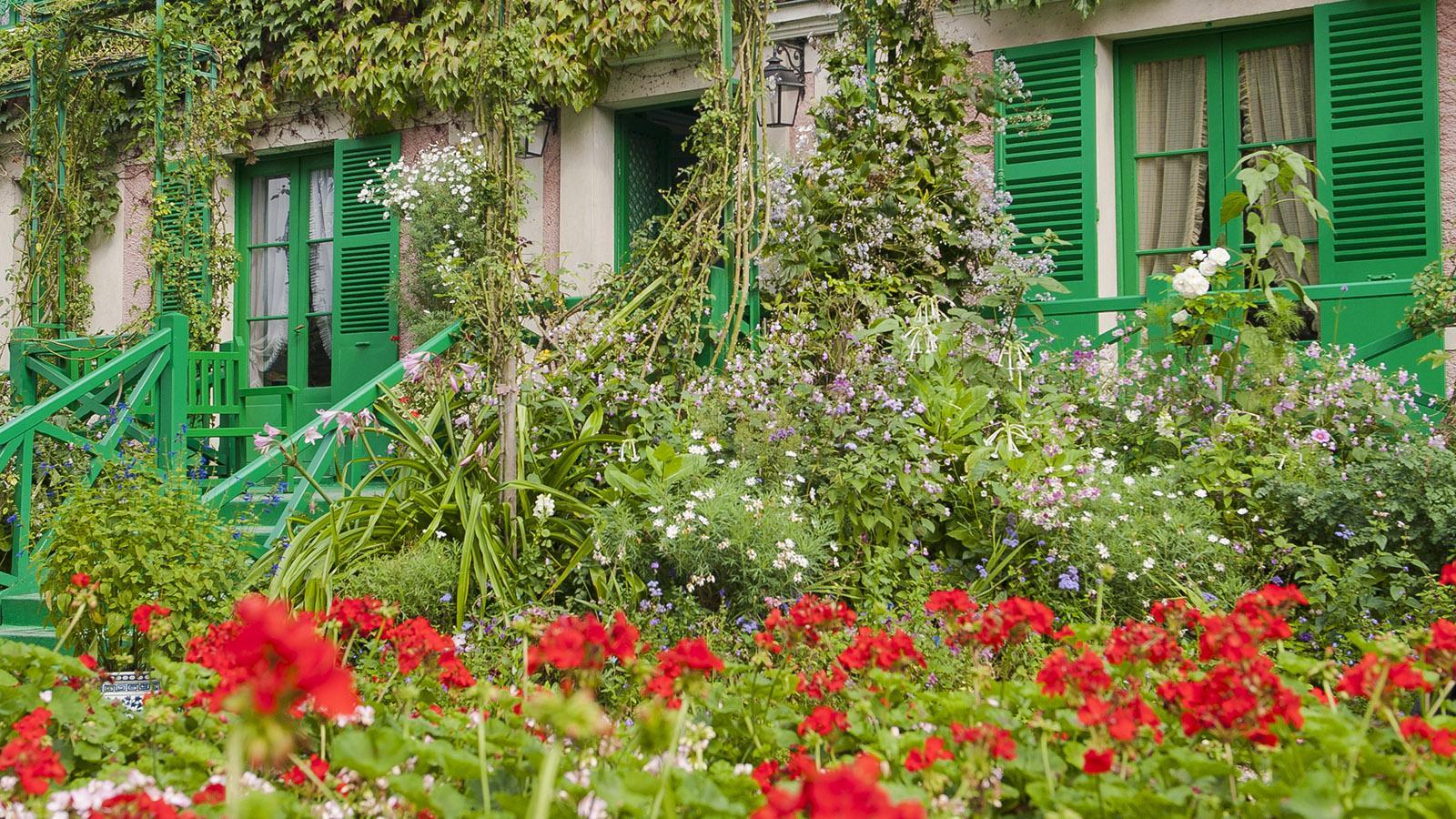 Das Haus von Monet in Giverny. Foto: Hilke Maunder