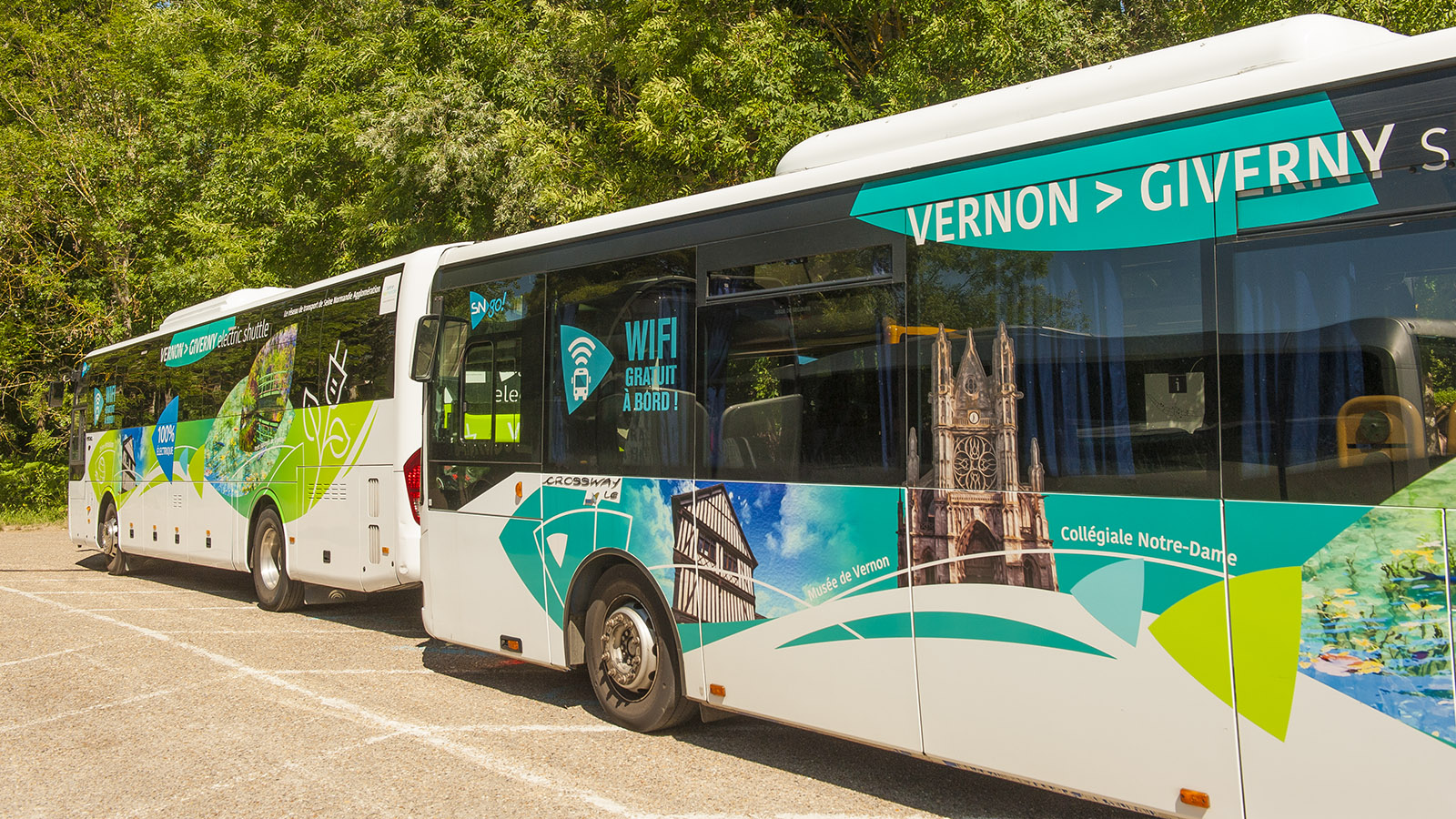 Monet in Giverny: der Busshuttle