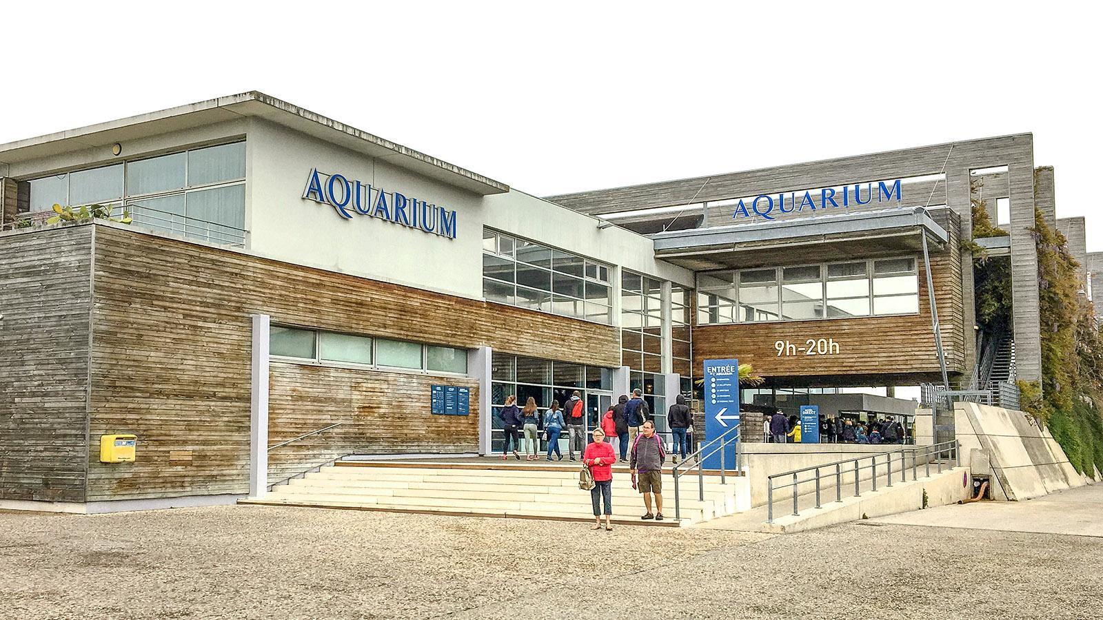 Poitou-Charentes: Das Aquarium von La Rochelle. Foto: Hilke Maunder