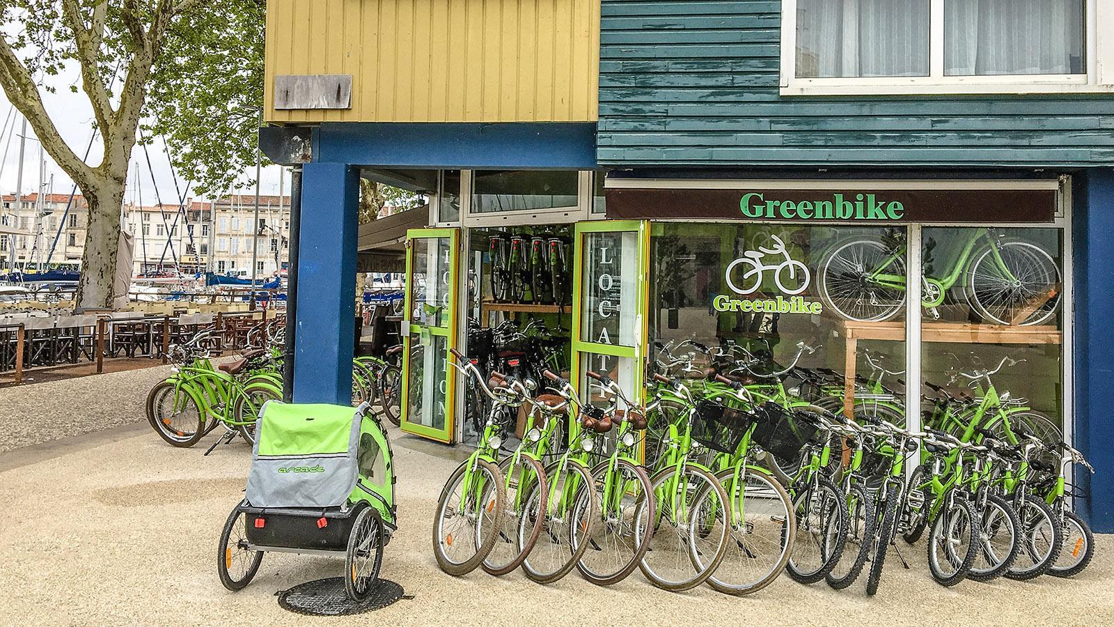 La Rochelle: Leihräder sind die beste Art, die vielen schönen Viertel der Stadt zu entdecken!