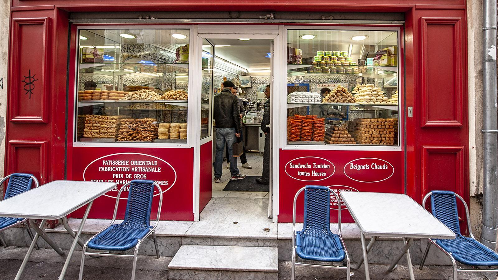 Marseille, Noailles: die arabische Bäckere Le Cartage. Foto: Hilke Maunder