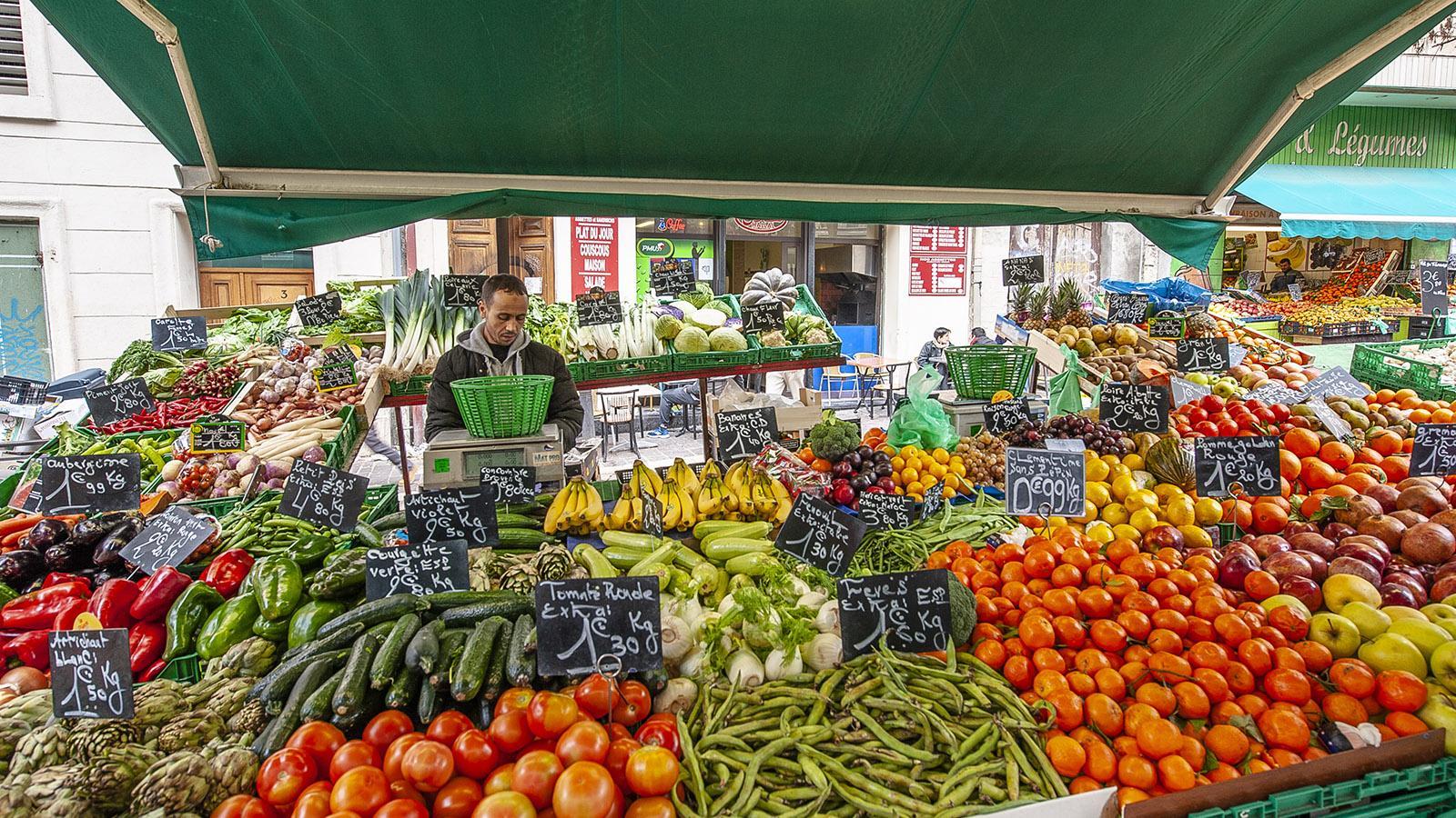 Marseille: Auf dem Markt von Noailles. Foto: Hilke Maunder