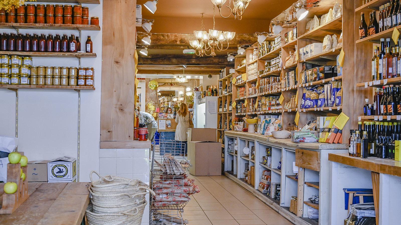 Marseille, Noailles: Die Feinkosthandlung L'Idéal von Julia Sammet. Foto: Hilke Maunder