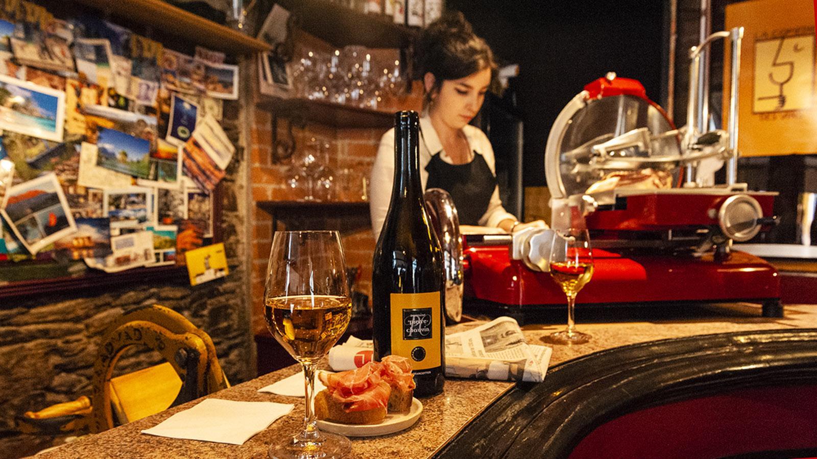 Nantes: La Comedie des Vins. Foto: Hilke Maunder