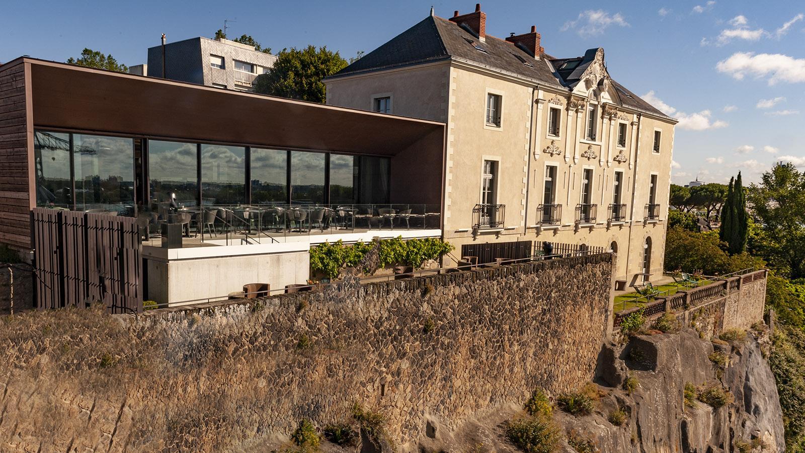 Nantes: L'Atlantide auf der Butte Sainte-Anne. Foto: HIlke Maunder