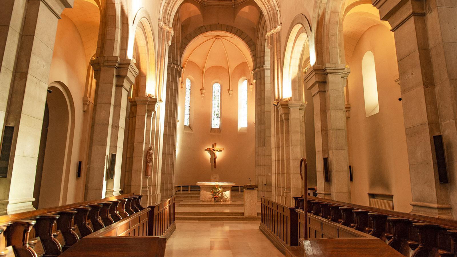 Saint-HonoratL: die Abteikirche. Foto: Hilke Maunder
