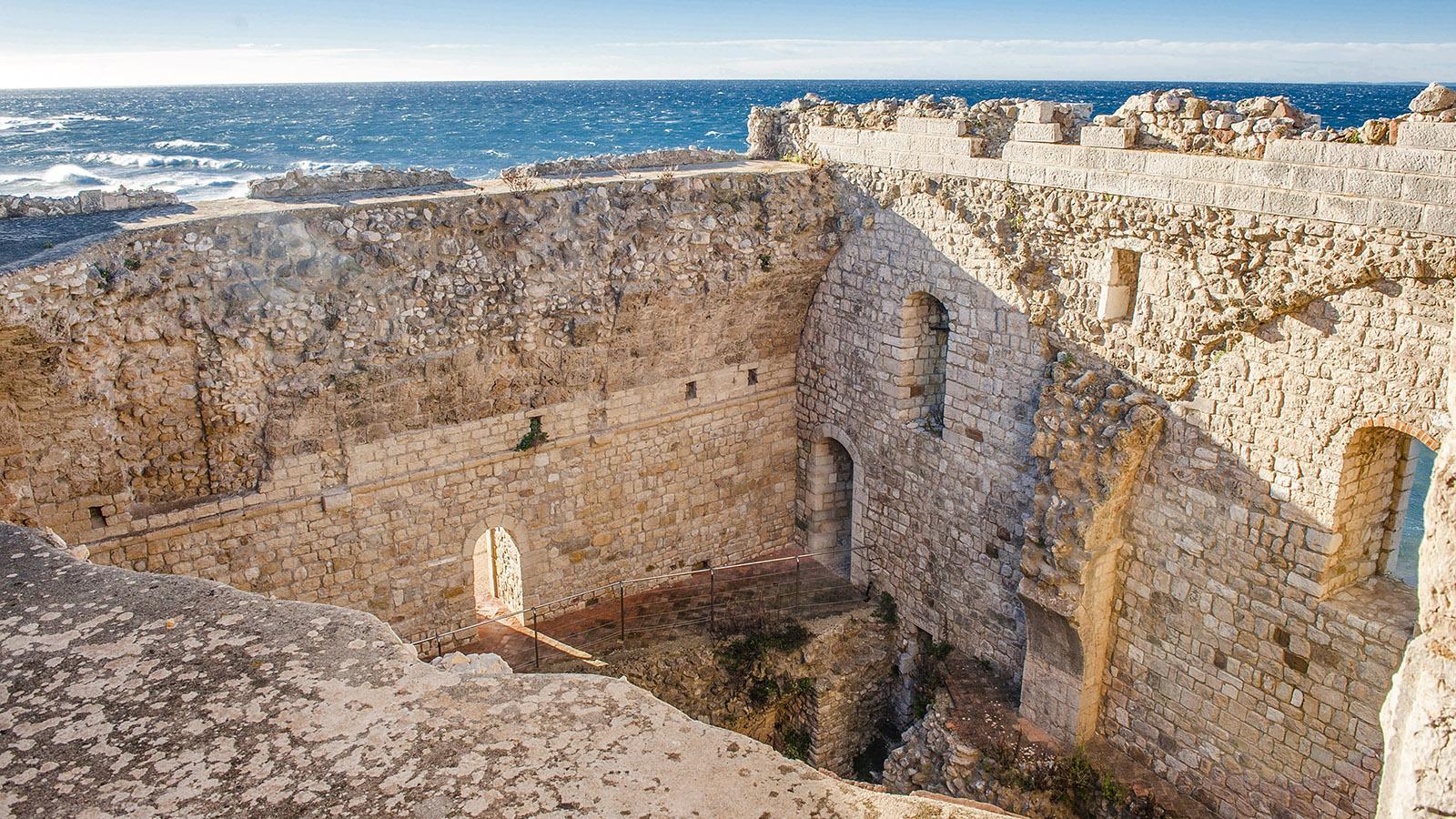 Der Donjon von Saint-Honorat. Foto: Hilke Maunder