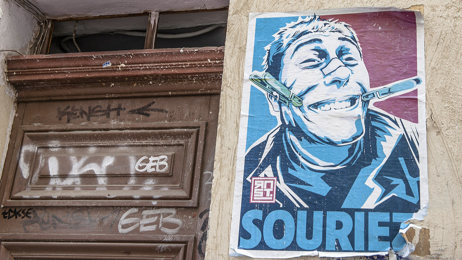 Mekka für Street Art - der Cours Julien von Marseille. Foto: Hilke Maunder
