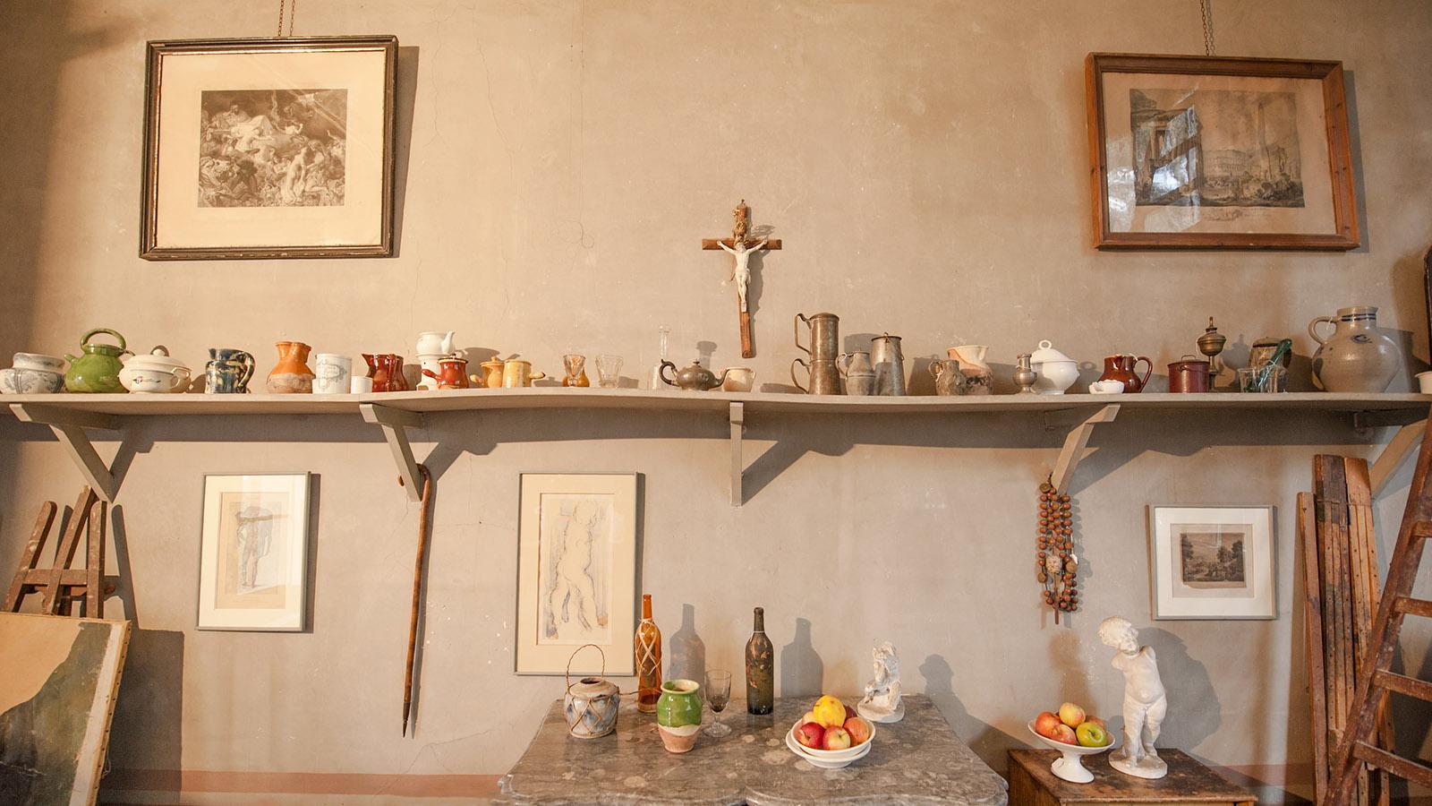 Aix-en-Provence: das Atelier von Cézanne. Foto: Hilke Maunder