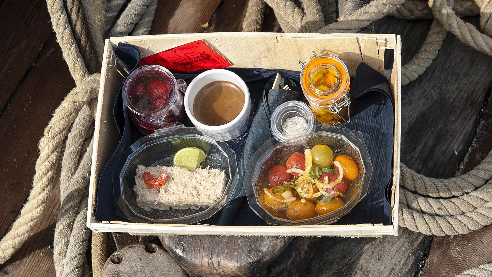 Cuisine Corsaire: kleine Köstlichkeiten. Foto: Hilke Maunder