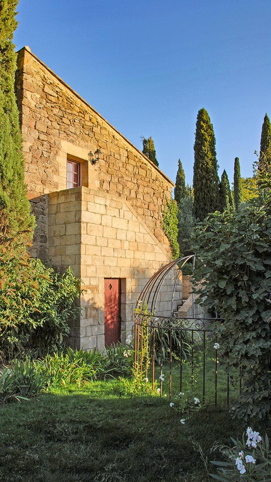 Der Gîte du moulin der Abtei Fontfroide. Foto: Hilke Maunder