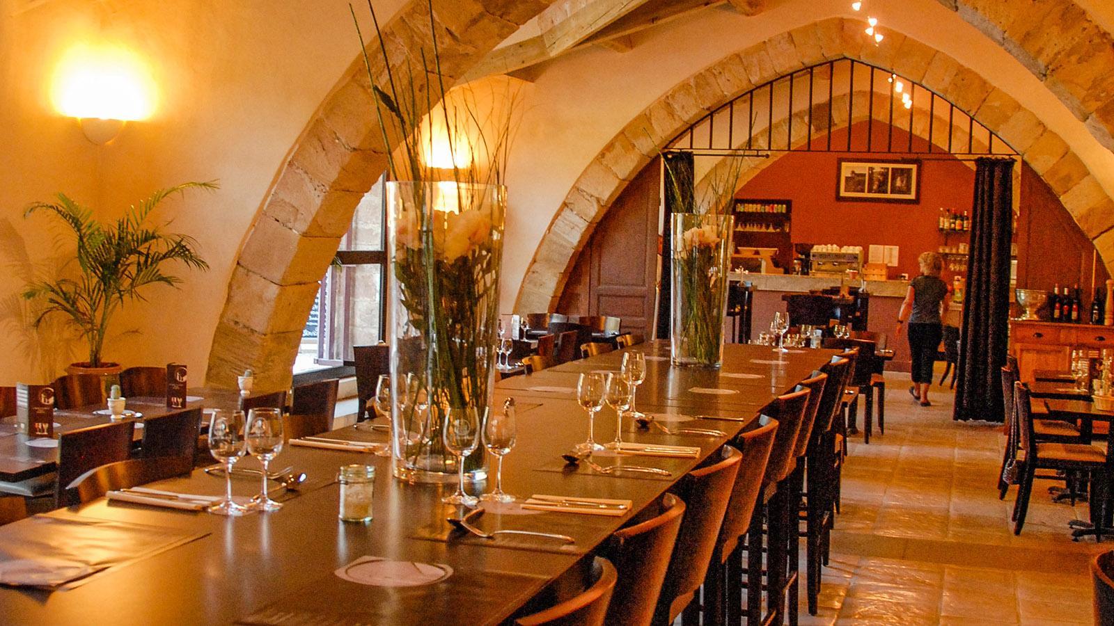"""Das Restaurant """"La Table de Fontfroide"""". Foto: Hilke Maunder"""