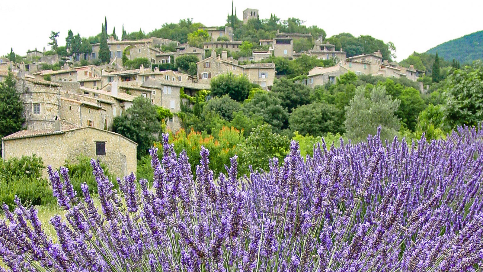Mirmande in der Drôme. Foto: Hilke Maunder