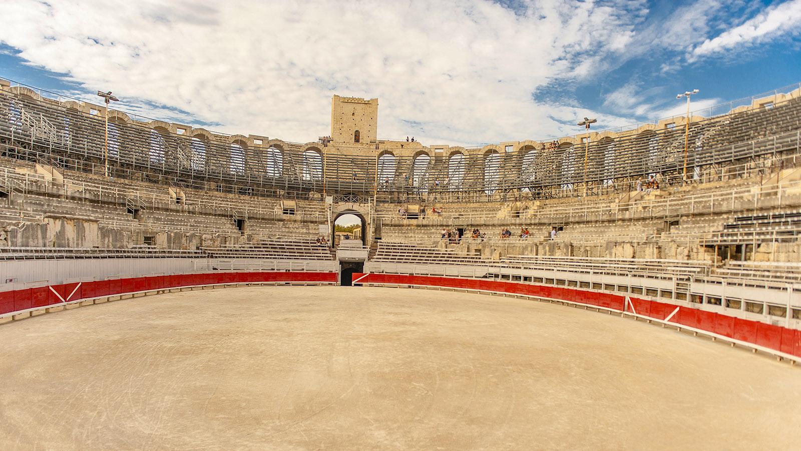 Die Arenen von Nîmes. Foto: Hilke Maunder