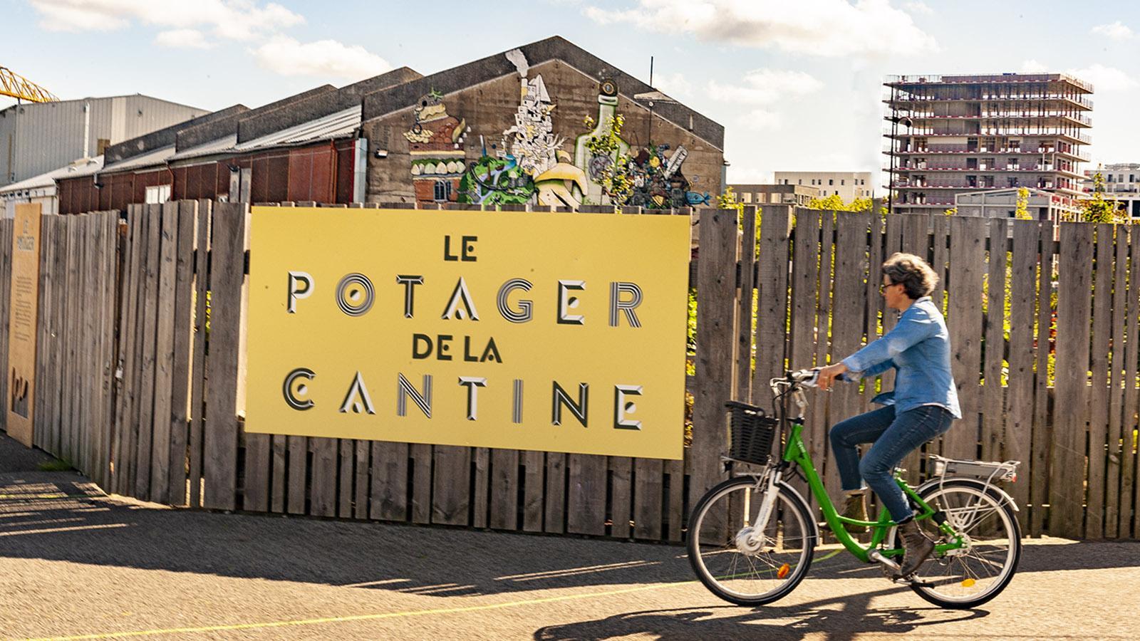 Das Urban-Gardening-Projekt der Île de Nantes. Foto: Hilke Maunder