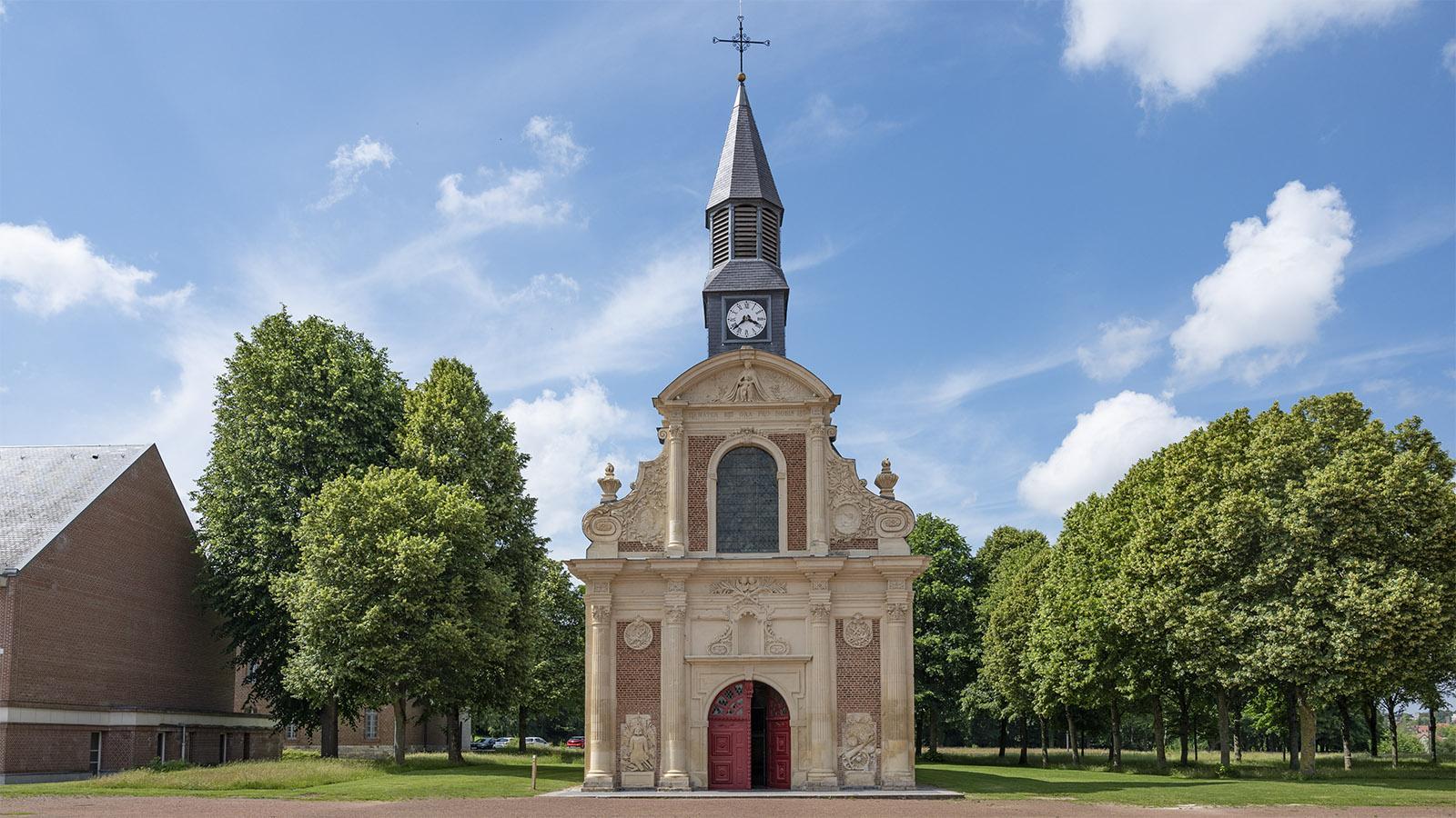 Die Militärkirche der Zitadelle von Arras. Foto: Hilke Maunder