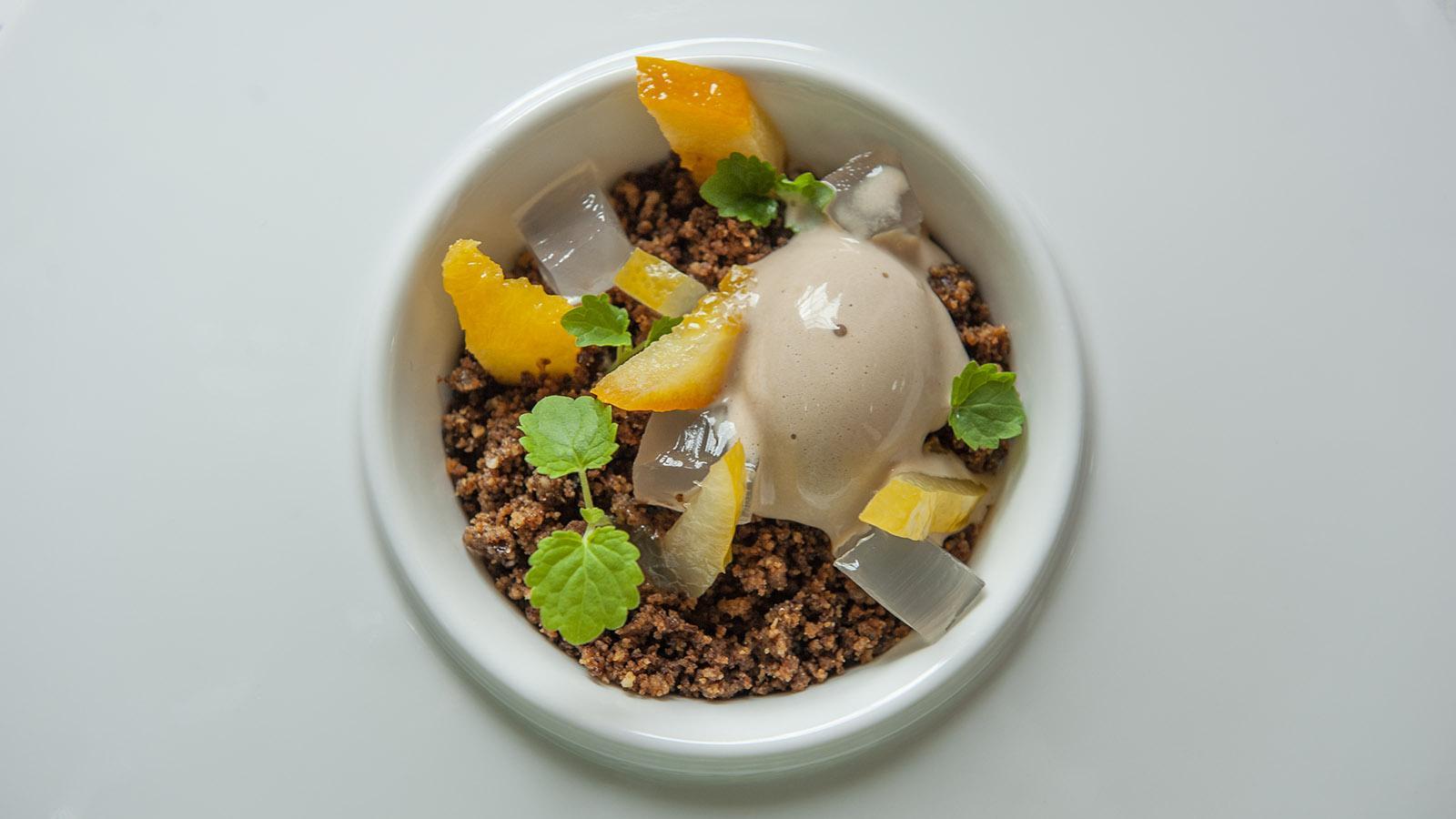 Riberach: fein abgestimmt - das Dessert. Foto: Hilke Maunder