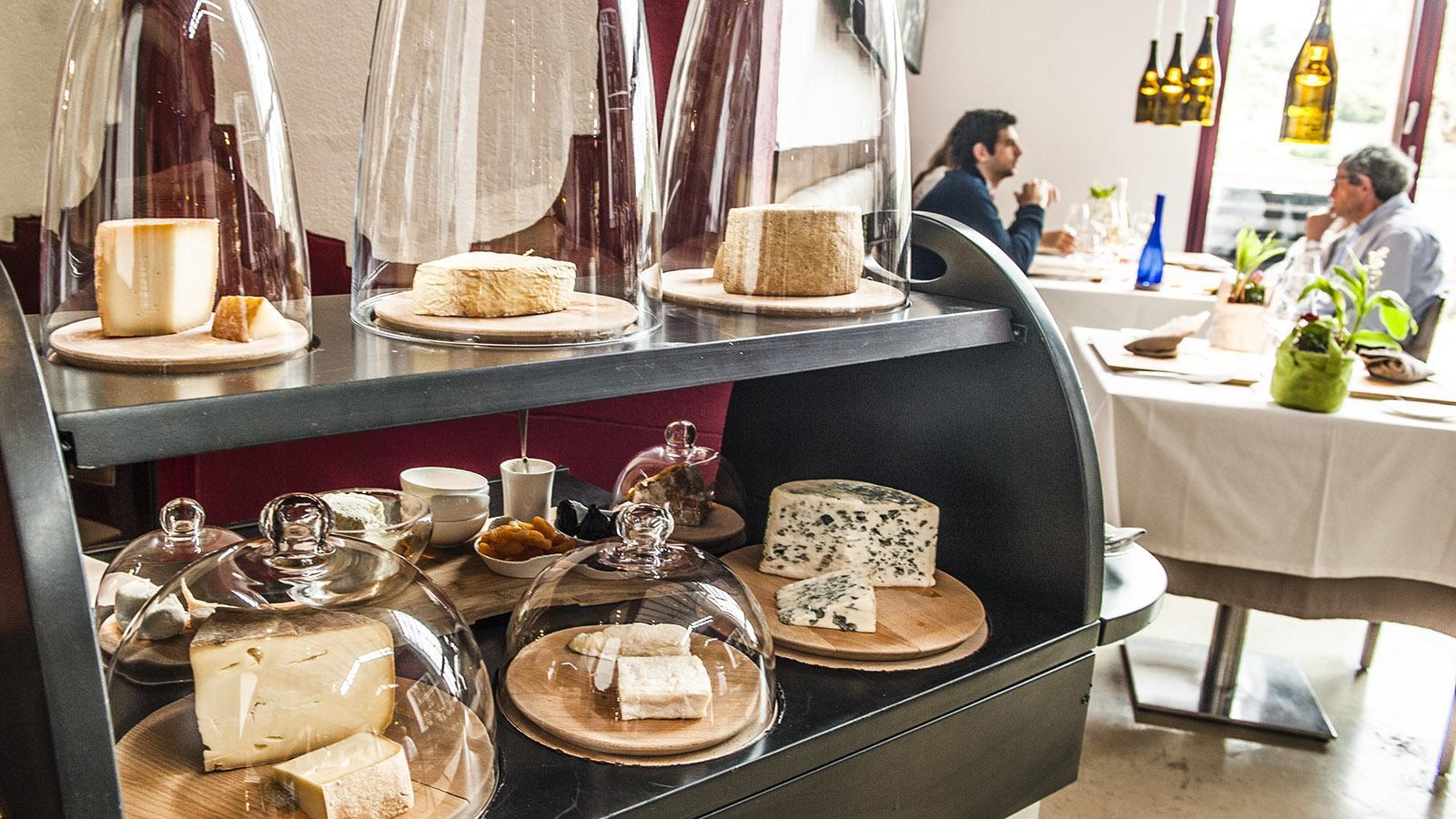 Riberach: die Käseauswahl des Restaurants. Foto: Hilke Maunder