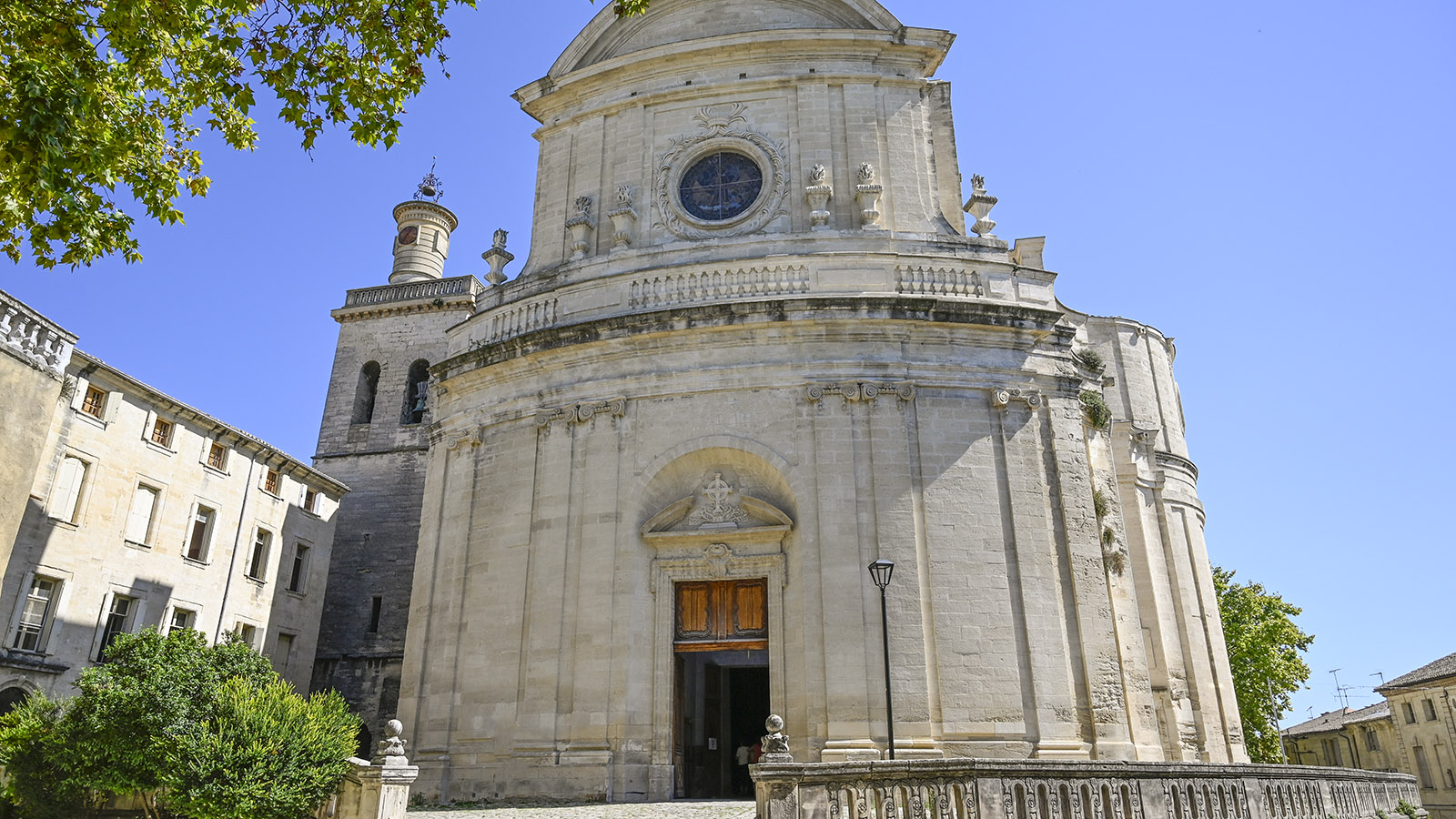 Uzès: Église Saint-Étienne. Foto: Hilke Maunder