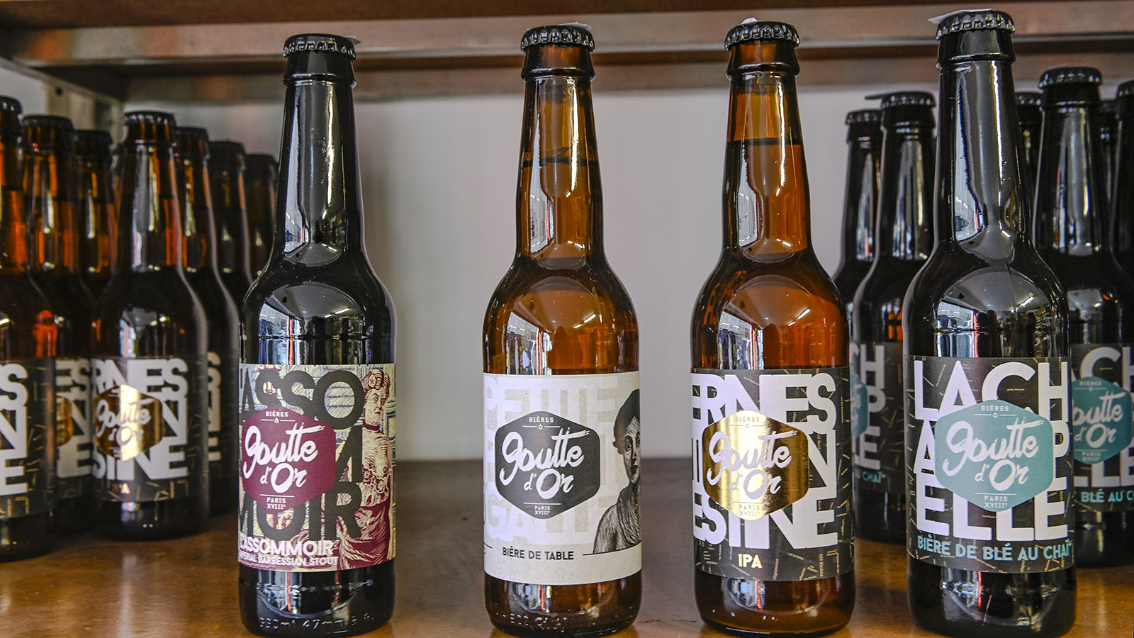 Craft Bier aus Goutte d'Or. Foto. Hilke Maunder