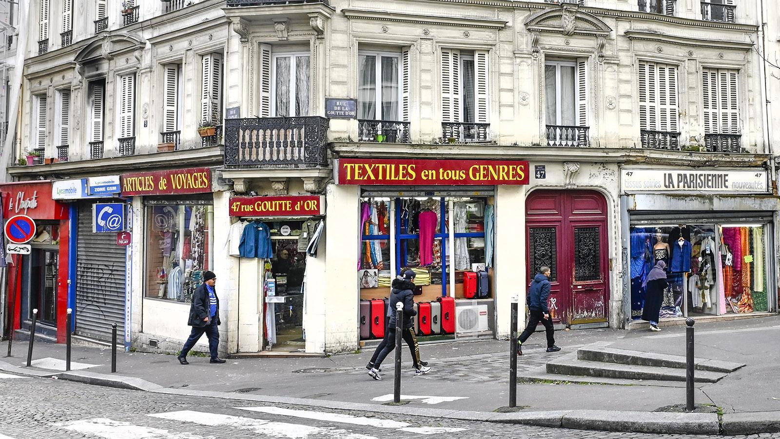 Goutte d'Or: eine Institution seit mehr als 30 Jahren. Foto: Hilke Maunder
