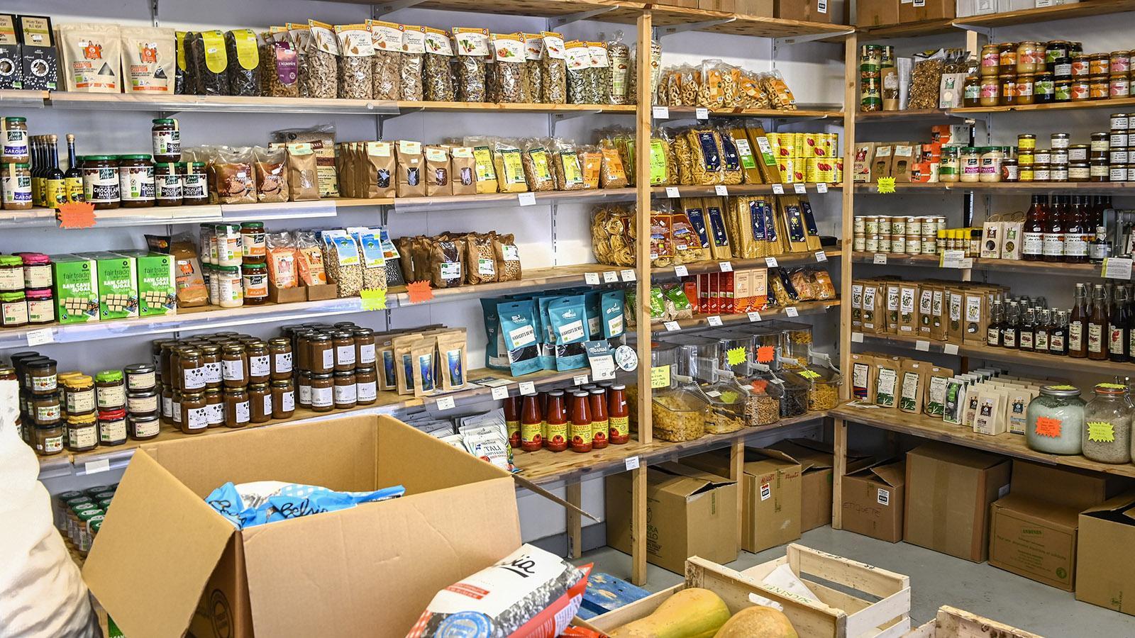 Goutte d'Or: Einkaufsladen der Kooperative. Foto: Hilke