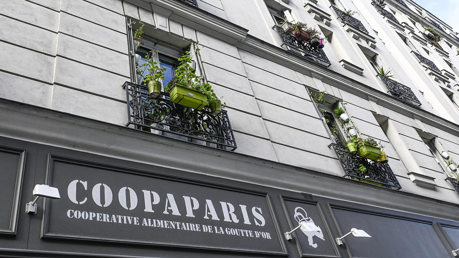 2015 eröffnete die erste Kooperative des Viertels in Goutte d'Or. Einkaufen kann nur, wer Mitglied ist. Foto: Hilke Maunder