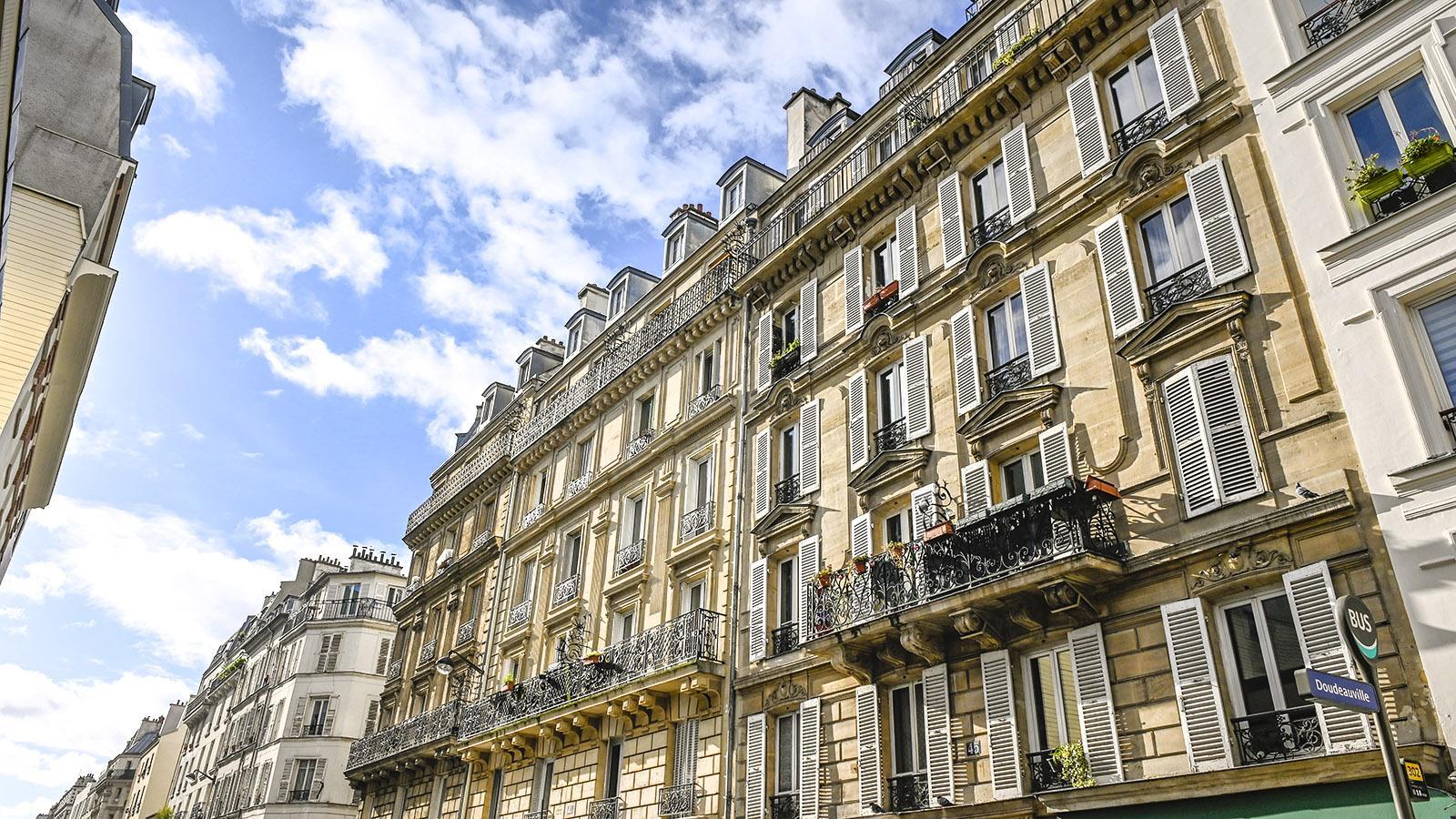 Von der Gründerzeit geprägt: die Fassaden von Goutte d'Or. Foto: Hilke Maunder