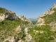 Der Blick auf die Gorges du Galamus von Süden aus. Foto: Hilke Maunder