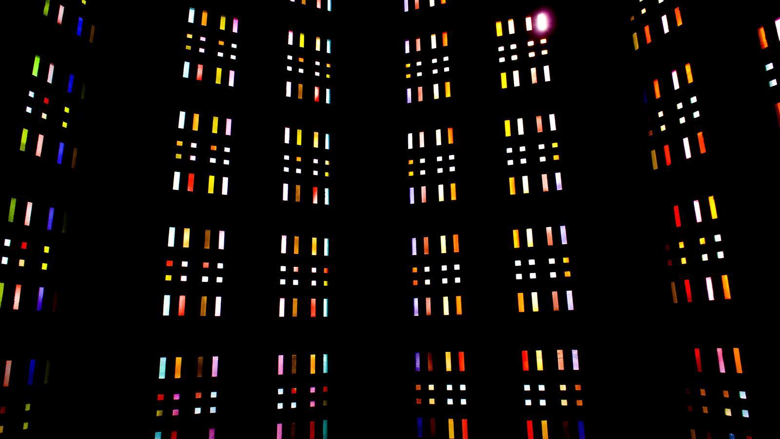 Église Saint Joseph von Le Havre: die Glasfenster