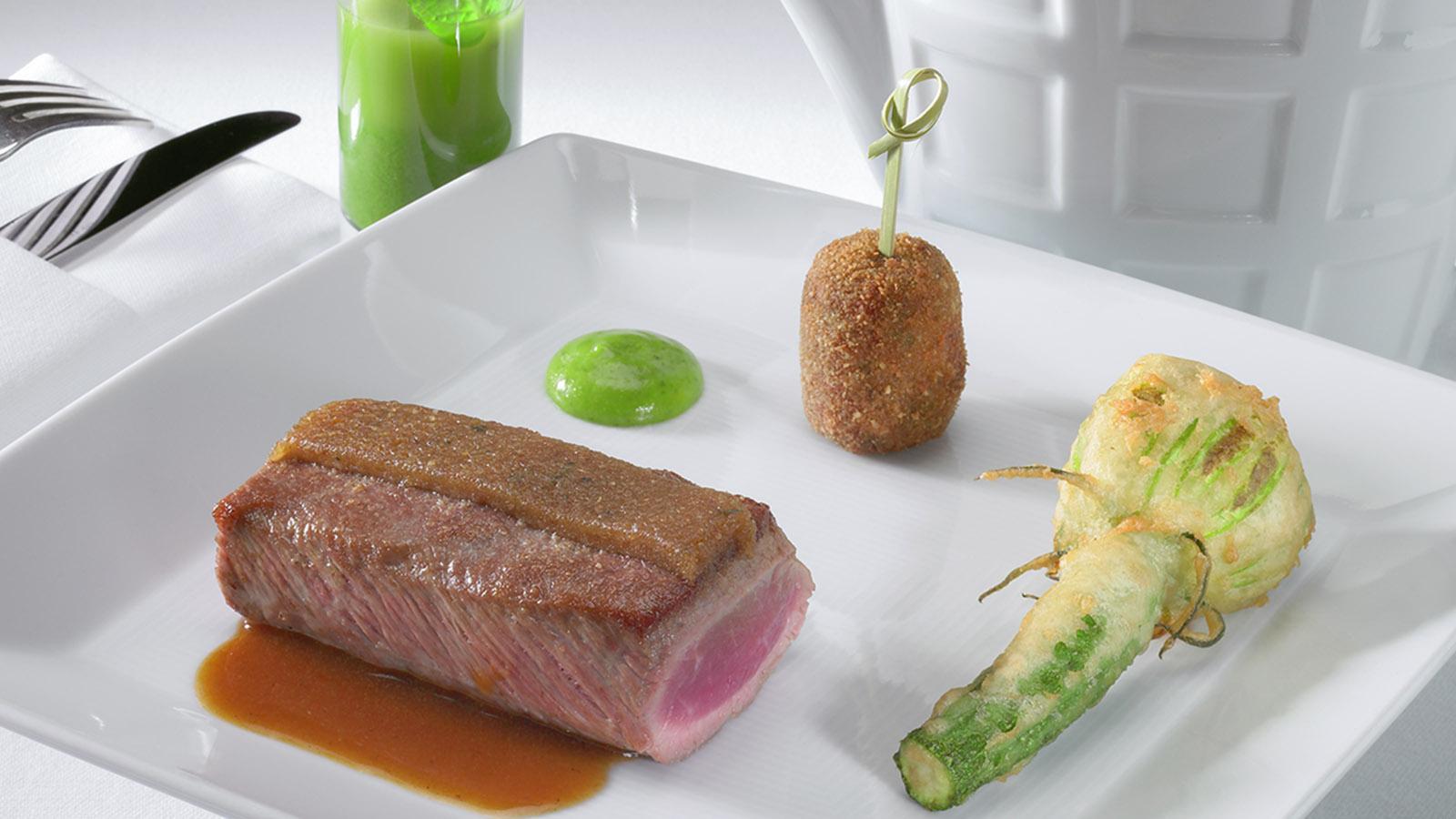 Haute-Cuisine von Michel Sarran. Foto: Restaurant Michel Sarran