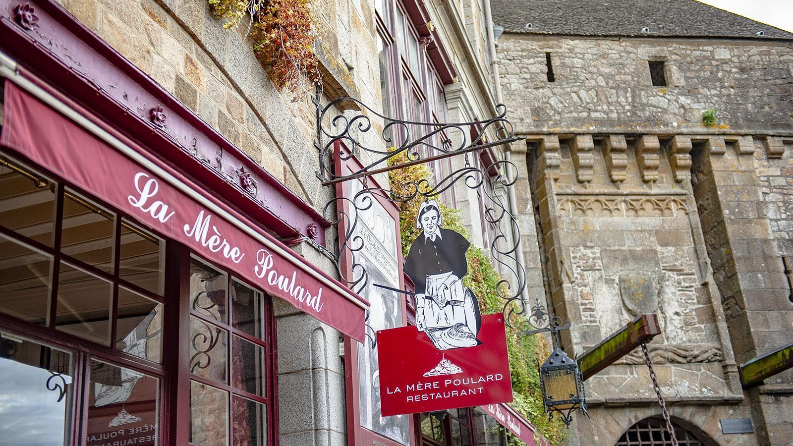 Mère Poulard: Die Auberge ist eine Institution am Klosterberg. Foto: Hilke Maunder
